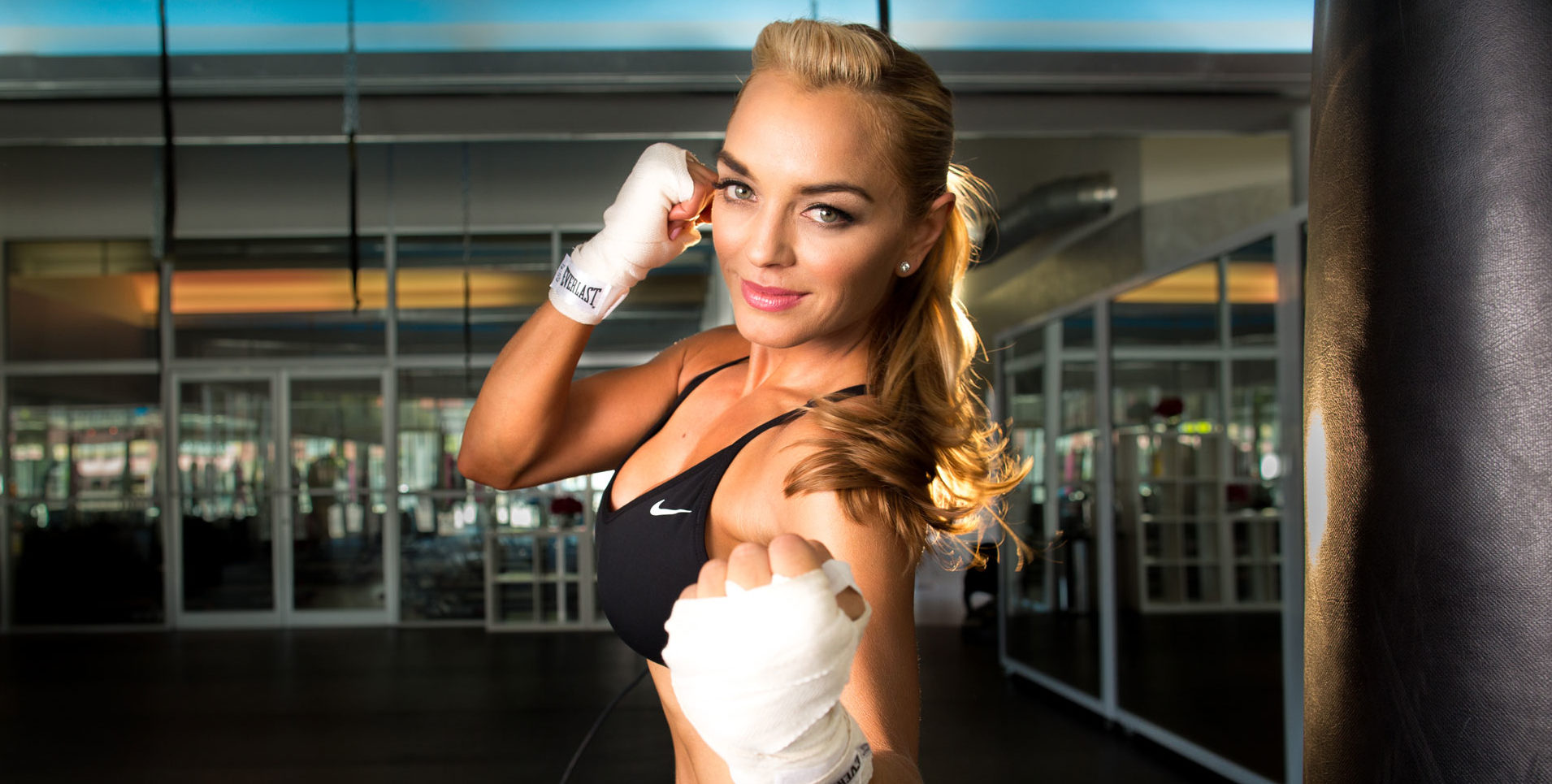 Glamour  – What Fitness Pro's Have In Their Gym Bags