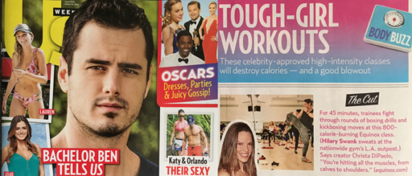 US Weekly - Tough-Girl Workouts