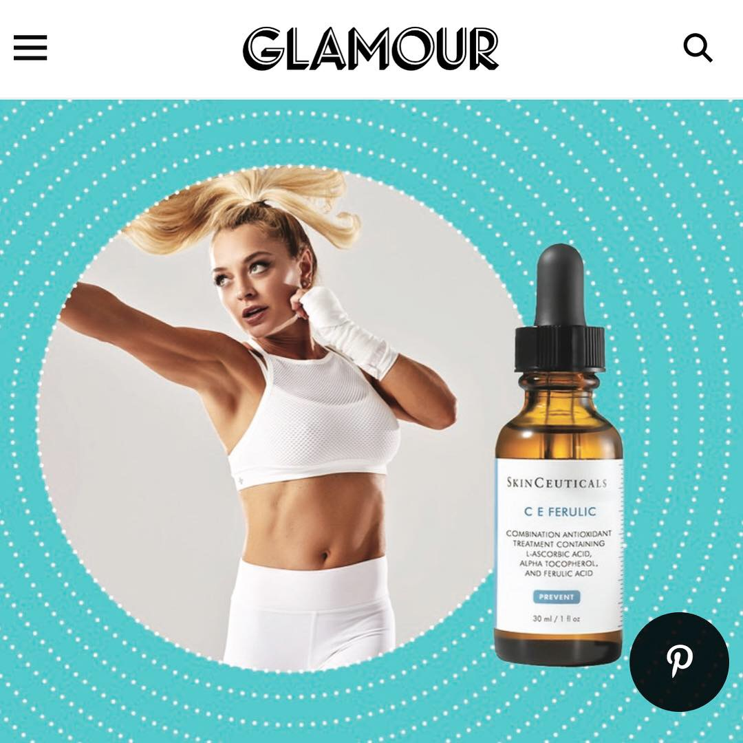 GLAMOUR.COM - January 2019, Beauty Products To Pack In Your Gym Bag According To Fitness Pros